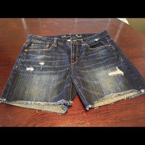 American Eagle Jean Shorts. Size 8.